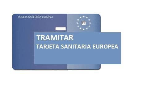 Cómo tramitar la Tarjeta Sanitaria Europea por internet